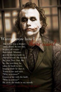 Most memorable quotes from Joker, a movie based on film. Find important Joker Quotes from film. Joker Quotes about who is the joker and why batman kill joker. Joker Dark Knight, Dark Knight Quotes, Der Joker, Joker Und Harley Quinn, Joker Art, Heath Ledger Joker Quotes, Joker Heath, Heath Legder, Batman Quotes