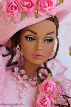 barbie, pink, and beautiful image Black Barbie, Barbie I, Barbie World, Barbie And Ken, Barbie Clothes, Barbie Style, Chic Chic, Fashion Royalty Dolls, Fashion Dolls