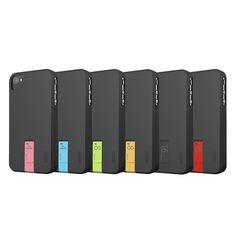 iPhone case + pen drive, cada cor com uma capacidade de memoria diferente.