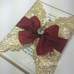 First post of the year, #tbt beautiful and elegant Gold an red invitation! Luxury invitation for your occasion. / Primer post del año, Bella y elegante invitacion Dorada y rojo pasion. Invitacion de lujo para tu ocasion. #dianarcreations #invitation #invitations #invites #handmade #handmadeinvitation #invitaciones #tbt #sweetsixteen #quinceañera #craft #birthdayinvitations #birthday