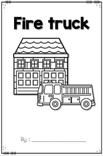 Fire Safety Week FREE emergent reader.  Great for community helper themed activities too.