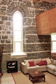 I've always wanted to live in a converted church!