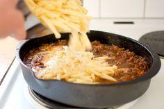 Pasta och köttfärssås