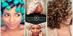 Review: The Natural Hair Shop's Little Bow Peep Satin Bonnet   Natural Hair Kids