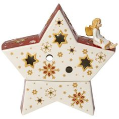 Villeroy & Boch Christmas Light Angel on a Star 5 in-01