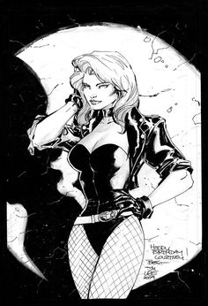 Black Canary by Jim Lee