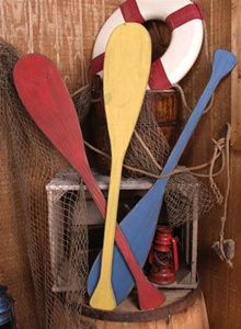 Vintage Canoe Paddles-good website