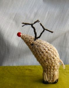 How-To: Amigurumi Crocheted Rudolph the Red-Nosed Reindeer from Cult of Crochet