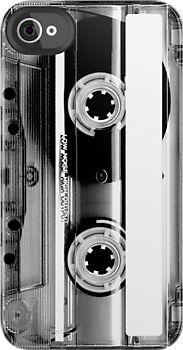 """cassette"" iPhone case"
