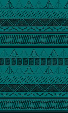 Harry Potter Tribal Print Art Print