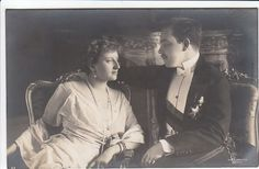 Manuel II & Augusta Victoria of Portugal