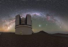 Equirectangular images from the European Southern Observatory. Chile, Image Archive, Milky Way, Northern Lights, Public, Education, World, Nature, Travel
