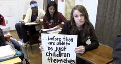 Watch these girls and women explain what challenges women face worldwide in this video from It Only Takes a Girl.