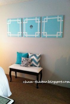 Diy Side By Canvas Wall Art For The Living Room Above Couch