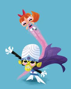 Powerpuff-girls---matt-kaufenberg
