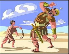How to Make a David and Goliath Bible Craft