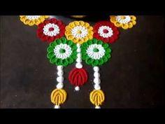 Super Easy Kalash Border Rangoli Designs Using Bangles Easy Rangoli Designs Diwali, Free Hand Rangoli Design, Small Rangoli Design, Colorful Rangoli Designs, Rangoli Ideas, Diwali Rangoli, Beautiful Rangoli Designs, Simple Rangoli, Indian Rangoli
