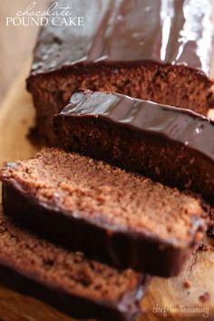 Chocolate Pound Cake... this recipe is rich, delicious and perfectly moist! It will be one you want to make over and over again!