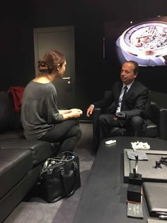 ITW of Christophe Claret at the occasion of the SIHH Geneva, Grand Prix, Taiwan
