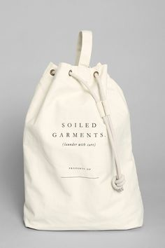 Shop Izola Soiled Garments Laundry Bag at Urban Outfitters today. We carry all the latest styles, colors and brands for you to choose from right here. Sacs Design, Diy Sac, Urban Outfitters, Bag Packaging, Mocca, Fabric Bags, Cotton Bag, Cloth Bags, My Bags