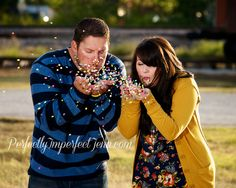 Would be cute on a Christmas card.... Since there's no snow in Southern California!