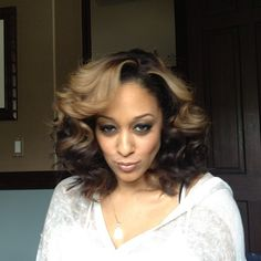 Sassy hair and attitude - Tia Mowry via (jeugeokarim) Instagram