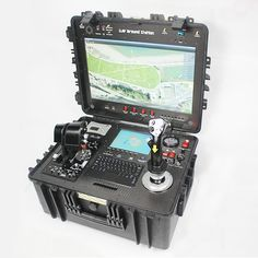 New Drone Control System with Control Distance for Professional Industrial Drone Ground Station Control Panel Drone Technology, Technology Gadgets, Tech Gadgets, Medical Technology, Energy Technology, Control System, Control Panel, Buy Drone, Rc Autos