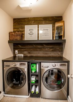 Laundry Room Layouts, Laundry Room Remodel, Laundry Room Design, Laundry Rooms, Kitchen Remodel, Coffee Bar Home, Laundry Room Inspiration, Farmhouse Laundry Room, Vintage Industrial Decor