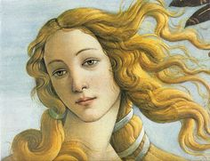 Birth of Venus: By Sandro Botticelli It represents Aphrodite or goddess Venus emerging from a sea upon a shell, and shows her birth. It is located in the Uffizi gallery in Florence. Portrait Renaissance, Renaissance Kunst, Italian Renaissance, Renaissance Paintings, Renaissance Image, Birth Of Venus Botticelli, Kunst Poster, Most Famous Paintings, Famous Art