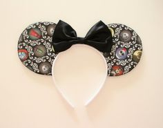 Nightmare before Christmas Mouse Ears by Shopmymouse on Etsy