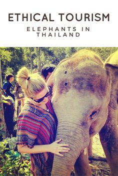 Play, bath & feed elephants while in Thailand. Read about ethical tourism choices when it comes to Elephants in Thailand. Elephants are amazing animals and spending the day at the nature camp is the best way to interact with these beautiful animals!