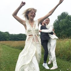 Hanne Gaby Odiele Got Married! And It Was Just As Fashion-Heavy As You'd Expect