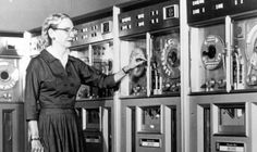 The pioneering computer programmer Grace Hopper