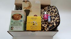 First trimester goodies for mom-to-be via Baby Bump Bundle pregnancy subscription boxes