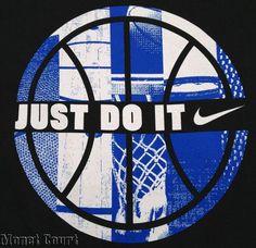Nike Men's Just Do It Basketball Shirt Large