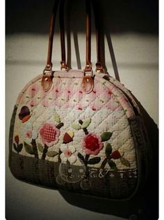 Bolso  flores patch