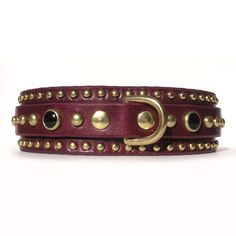 The Huntley Leather Dog Collars, Leather Projects, Custom Leather, Belt, Bracelets, Dogs, Accessories, Jewelry, Belts