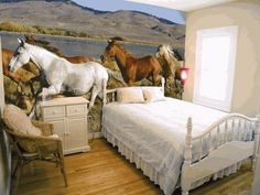 horse bedrooms   ... Themed Bedrooms for Horse Crazy Girls of All Ages « HORSE NATION