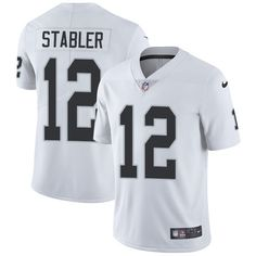 Nike Raiders  12 Kenny Stabler White Men s Stitched NFL Vapor Untouchable  Limited Jersey And Cowboys 49db8ed3c