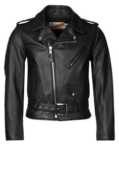 #fashion #black #leather #jacket Schott Made in USA US ONE STAR: http://zln.do/1gUDfGb