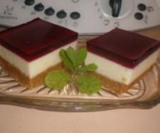 Recipe Jelly Slice by Jeanette Pearce, learn to make this recipe easily in your kitchen machine and discover other Thermomix recipes in Desserts & sweets. Sweets Recipes, Cake Recipes, Cooking Recipes, Slice Recipe, Jelly Slice, Thermomix Desserts, Simply Recipes, Small Cake, Recipes