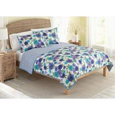 Better Homes and Gardens Quilt Collection, Watercolor Floral