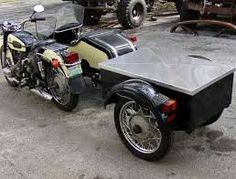 Image result for ural motorcycle towing trailer