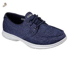 Skechers Go Step Excape Womens Boat Shoes Navy 9.5 - Skechers sneakers for women (*Amazon Partner-Link)