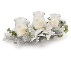 Silver Christmas Decorations, Christmas Deer, Christmas Centerpieces, Xmas, Christmas Stuff, Christmas Time, Tree Centerpieces, Christmas Arrangements, Winter Wonder