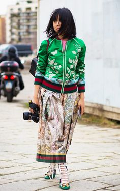 50 Outfit Ideas Fashion Girls Are Obsessing Over Right Now via @WhoWhatWearUK