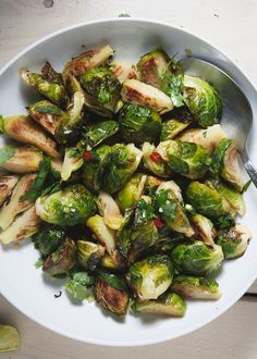 brussels sprouts, Momofuku style