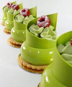 "9,510 Likes, 65 Comments - DessertMasters (@dessertmasters) on Instagram: ""Raspberry pistachio petit gateaux. By @paulo.bairan #DessertMasters"""