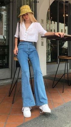 Retro Outfits, Vintage Summer Outfits, Indie Outfits, Cute Casual Outfits, Spring Outfits, Fashion Outfits, Spring Clothes, Vintage Summer Style, Hipster Outfits
