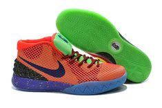 super popular b6509 82f21 New Nike Kyrie 1 What The Kyrie Kobe Bright Crimson Tour Yellow Dark Green  Blue Mens Basketball Shoes 2018 On Line